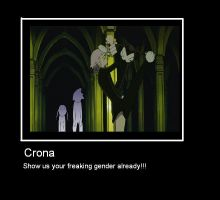 Crona's gender by Bri-Nara