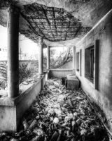 Abandoned House - 05 - Balcony by GiardQatar