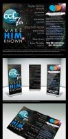 Make Him Known - Banner and Flyer Design by seekthegeekk