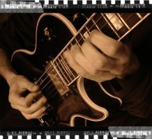 Hands on guitar by Nemseck