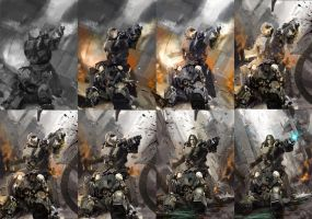 Forever war steps by BadbrushArt
