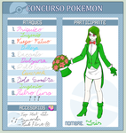 Concurso pokemon - Iris by GrimoireTale