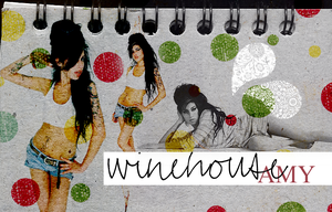 WINEHOUSE amy, collage by alebobbio