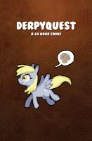 DERPYQUEST Cover! by MittyMandi
