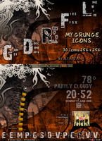 MY GRUNGE ICONS by jlfarfan