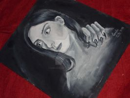 Self Portrait painting by CamilaCostaArt