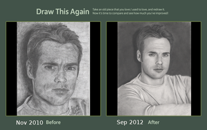 Michael Shanks, Draw This Again by Nephthys76