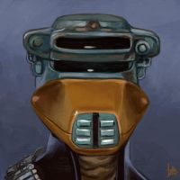 Daily Sketches Boushh by fedde