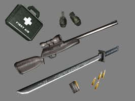 More weapons by newhere