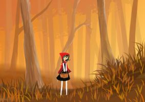 little red in the woods by Jump-Button