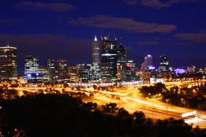 Perth City by RunLikeATortus