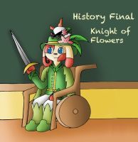 History Final: Knight of Flowers by YingYang-girl