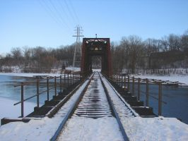 Fox River Railroad Trestle 07 by FantasyStock
