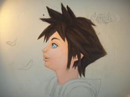 Sora on my wall 2 by twinkelsparky1