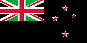 New Zealand Flag with a New Union Jack by Alternateflags