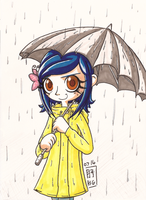Coraline Coloured Rain by Tsukiko-chan