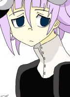 Chrona - Soul Eater - Coloured by millez16