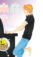 PAC-MAN..:: Ichigo::.. by 5iberian