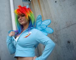Rainbow Dash A by spritepirate
