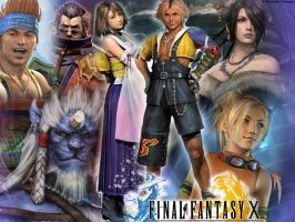 Final Fantasy X by lauraktaylor123