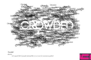 Expressive Typography: Crowded by waterfirefly