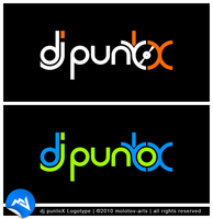 dj puntoX Logotype by molotov-arts