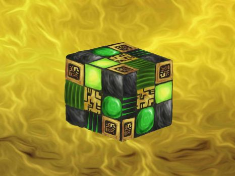 Rubick's Cube (the Grand Magus) by Scarnak