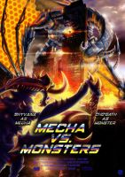 Mecha vs. Monsters - Riot Contest Entry by Noctume
