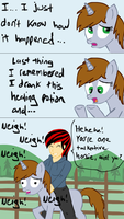 Littlepip's dilema by glue123