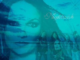 Nightwish Wallpaper by Dragonlady-Poho