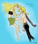 :: Don't go away :: FMA by crying-shinigami