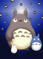 totoro by hightower67