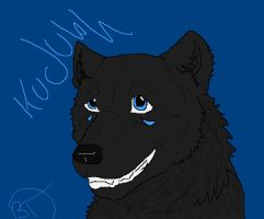 Kudubh Paint Doodle by BlackTailwolf