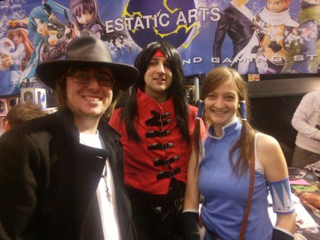 Anger with Vincent Valentine and Korra by The3Ryans