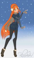 winter i missed you by bloomW