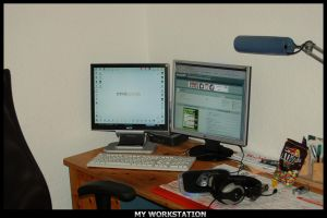 my Workstation by F3rk3S