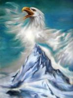 Moutain Eagle by crystalrain2702