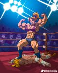 Bombshell Crushes the Tornado by muscle-fan-comics