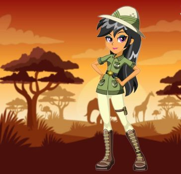 Equestria Girls Daring Do by kimpossiblelove