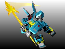 MEGAS XLR SLASH by g2mdluffy