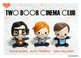 I LOVELOVELOVE TWO DOOR CINEMA CLUB by JollenelovesPhoenix