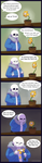 Undertale: Likes me? by UnknownSpy