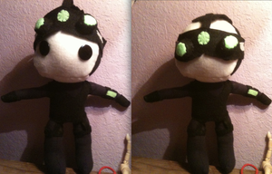 Sam Fisher Plush Complete by SuperiorMushroom