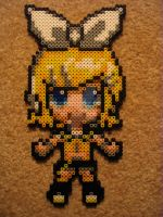 Kagamine Rin Perlerized by ultimicea
