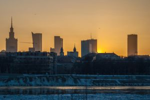 Left-side Warsaw by Exrey