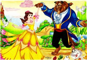 Tale As Old As Time by KerstinSchroeder
