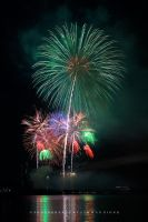 Raining Fireworks III by couleur