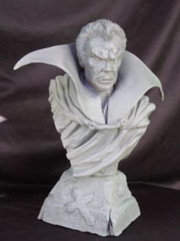 The Tomb of Dracula bust by Blairsculpture
