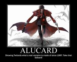 Alucard Motivational Poster by SqueakyTachibana