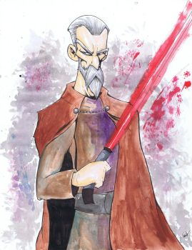 Count Dooku by NickPalazzo